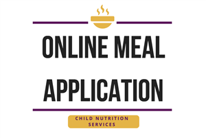 Fill out the Online Meal Application today!